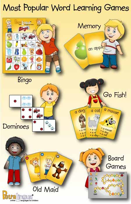 foreign language learning games